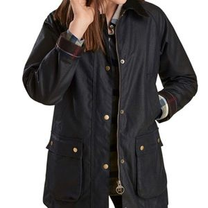 Barbour Ladies Acorn Wax Jacket size 16